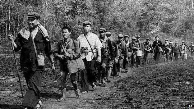 Años 70 en Camboya