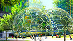 Ilustración del proyecto para la nueva sede de Amazon