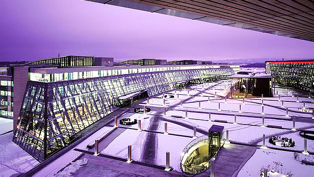 Sede de la empresa Telenor, en Noruega