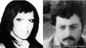 Laura Carlotto y Oscar Montoya