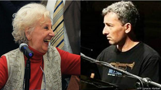 Estela Carlotto e Ignacio Hurban/Guido