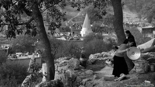 معبد ایزدیها در لالش