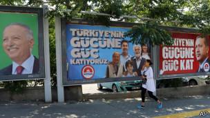 Eleições na Turquia (AP)