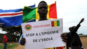 Protesta en África