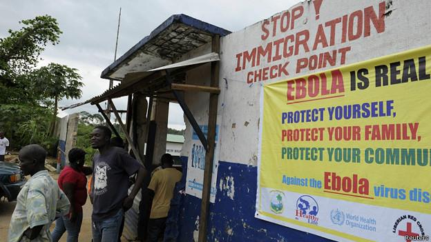 Ebola na Libéria (Reuters)