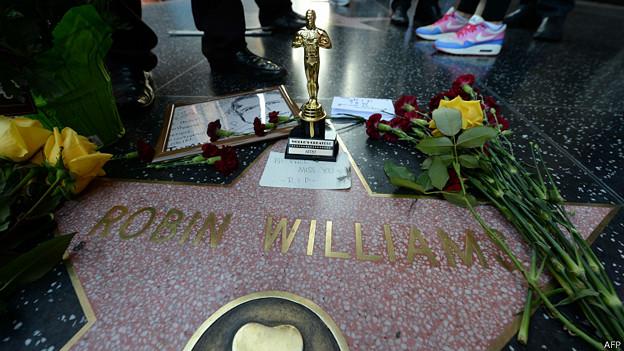 Estrella de Robin Williams en Hollywood