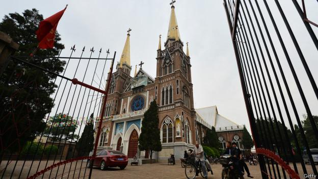 河南一处教堂