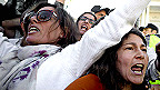Protestas contra el endeudamiento y la austeridad en Portugal