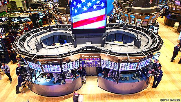 Bolsa de valores en Estados Unidos
