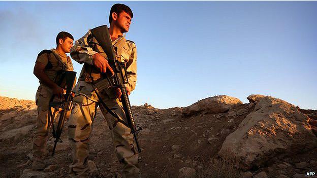 Soldados Peshmerga
