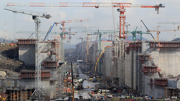 Obras de ampliación del Canal de Panamá
