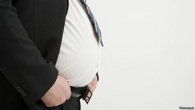 Homem obeso. Credito: Thinkstock