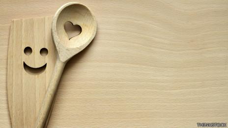 Utensilios de cocina felices