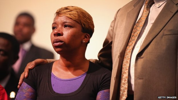Ferguson, madre de Michael Brown