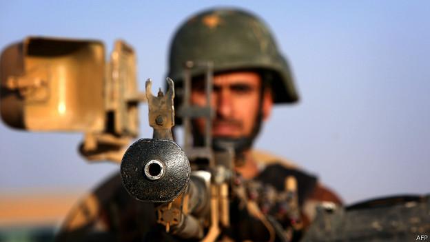 Combatiente Peshmerga