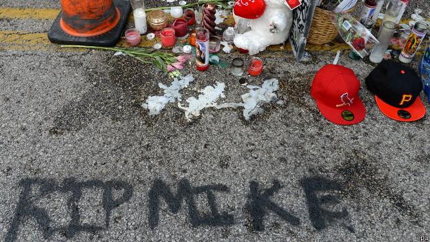 Homenaje a Michael Brown