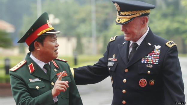 歡迎加入圍堵中共: 美軍參謀長建議美方解除對越南的武器禁運