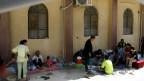 Refugiados cristãos no Curdistão iraquiano (EPA)