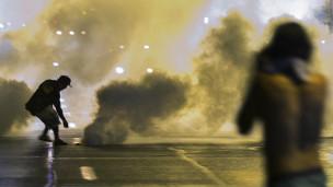 Protesto em Ferguson. Credito: Reuters
