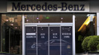 Concesionario de Mercedes-Benz en Shanghái