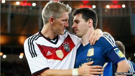 Adidas Messi Argentina y Alemania