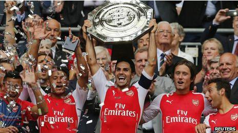 Puma viste a Arsenal