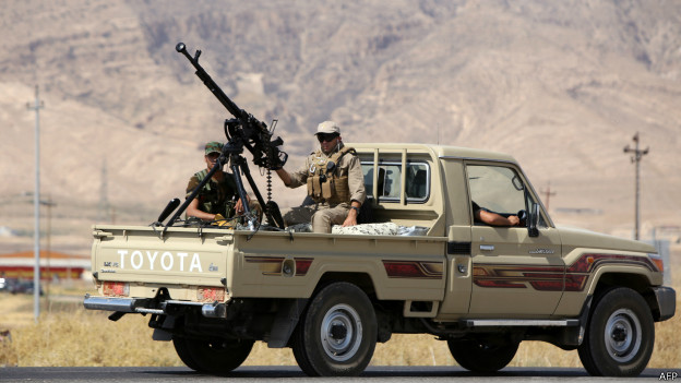 Peshmerga | Crédito: AFP