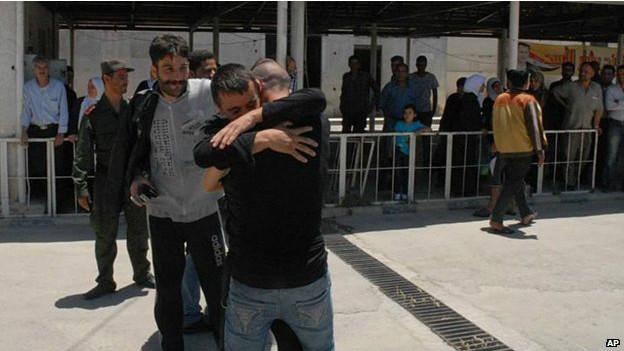 Liberados en Siria