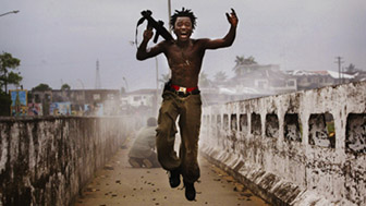 Photoville 2014.  Foto: Chris Hondros/Getty Images