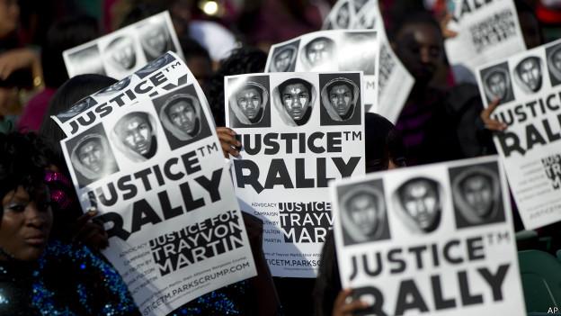 Concentración por Trayvon Martin