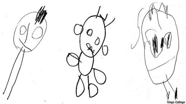 Desenho das crianças (King's College)