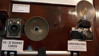 पुराने कैमरों की प्रदर्शनी