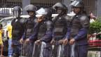 Fuerzas del orden en Liberia