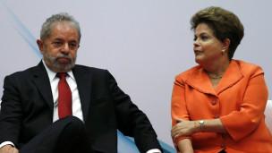 Dila Rousseff em Lula (Reuters)