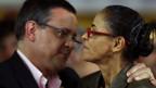 Marina Silva com Beto Albuquerque (Reuters)