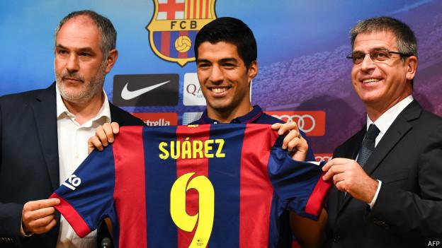 Luis Suárez en el Barcelona