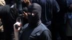 Armed Palestinian masked militants