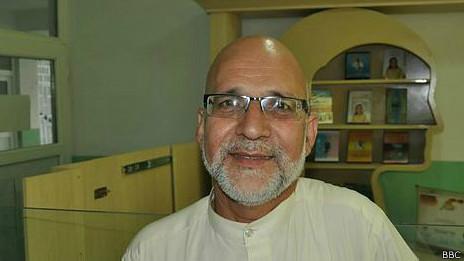 El doctor Mohammad Nader Alemi