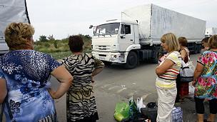 Convoy de ayuda ruso