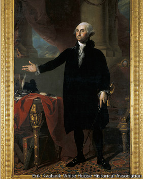 El d a en que los brit nicos incendiaron la casa blanca for Did george washington live in the white house