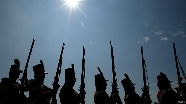 reconstrucción histórica de la guerra de 1812