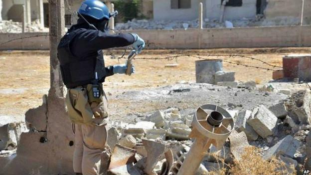 Investigación sobre armas químicas en Siria