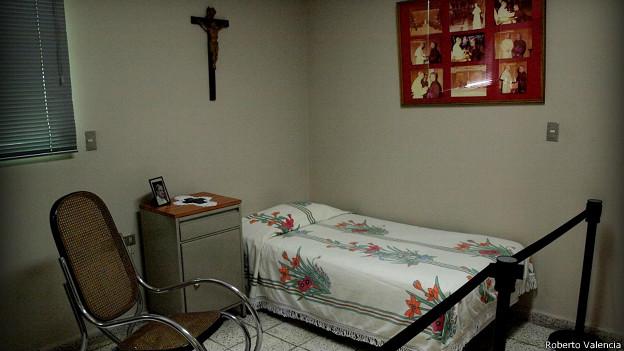 Este es el cuarto en el que vivió Monseñor Romero sus últimos dos años y medio de vida.