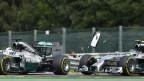Lewis Hamilton dan Rosberg