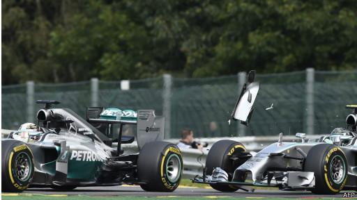Hamilton dan Rosberg