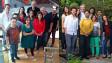 Redações da BBC Brasil em Londres (esq) e São Paulo