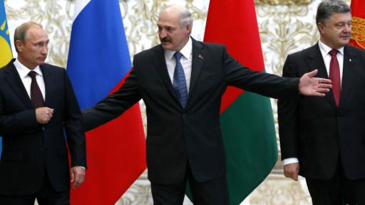 Putin e Poroshenko (Reuters)