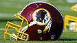 Washington Redskins helmets