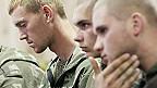Российские военные на пресс-конференции в Киеве
