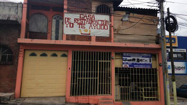 Centro de rehabilitación en Guatemala.